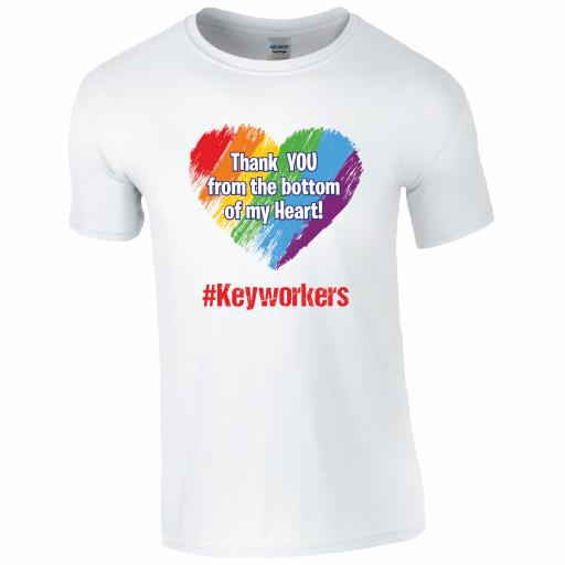 Thank you from the bottom of my Heart #keyworkers T-shirt