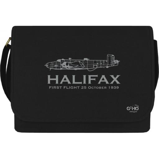 Halifax Classic First Flight Canvas Messenger Bag