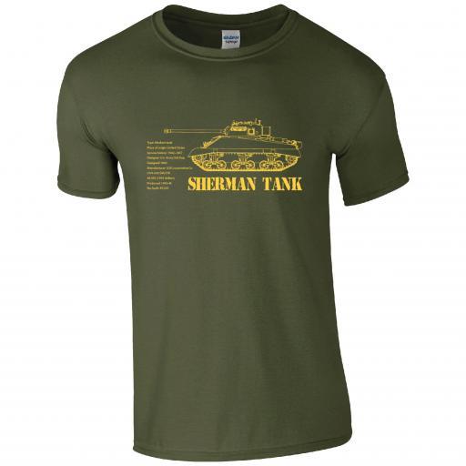 Tank - Sherman Tank T-shirt