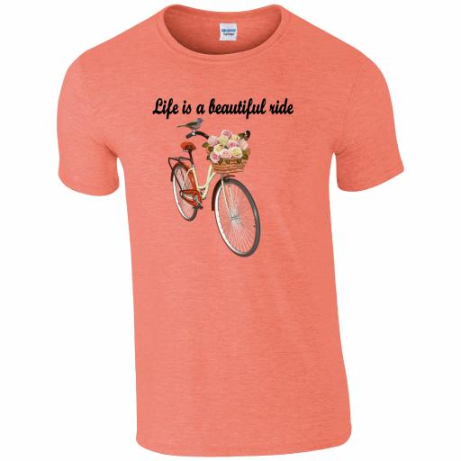 CY004 Life is a Beautiful Ride T-Shirt