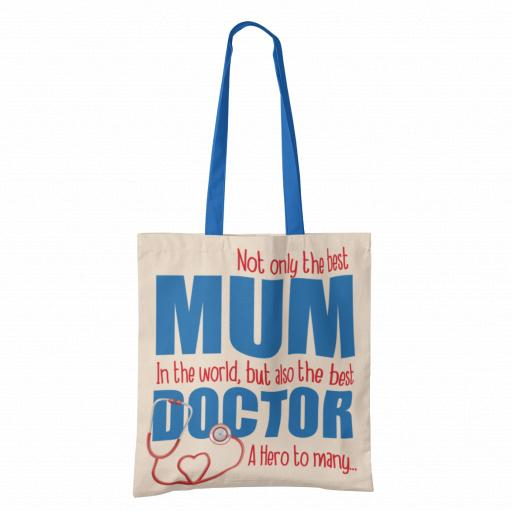 Best Mum, Best Doctor Tote Bag