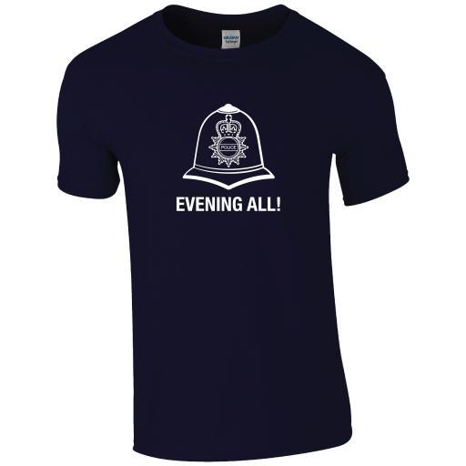Evening All Bobby Helmet T-Shirt