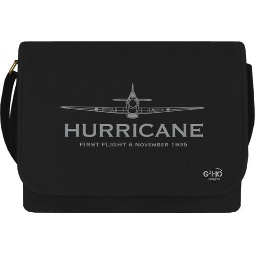 Hurricane Classic First Flight Canvas Messenger Bag