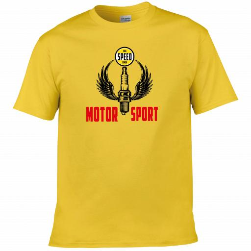 Speed Demon Motor Sport Racing T-shirt