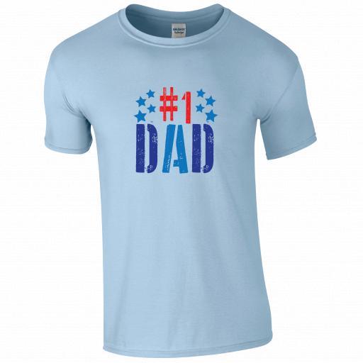 #No1 DAD T-shirt