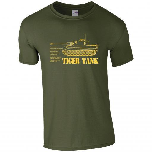 Tiger Tank Tshirt