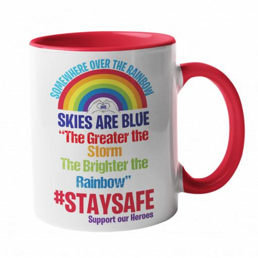 Somewhere over the Rainbow, Skies are Blue Mug