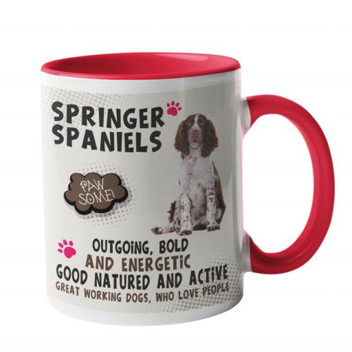 Springer Spaniel Dog Breed Mug