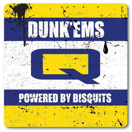 Dunk'ems Powered by Biscuits Metal Wall Sign