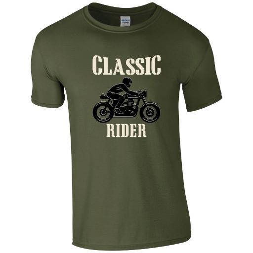 Classic Rider Motorcycle T-Shirt