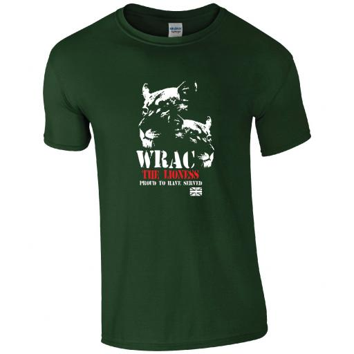 The Women's Royal Army Corps - The Lioness WRAC T-Shirt