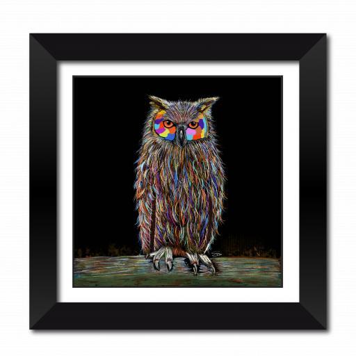Hooter The Owl Framed Print