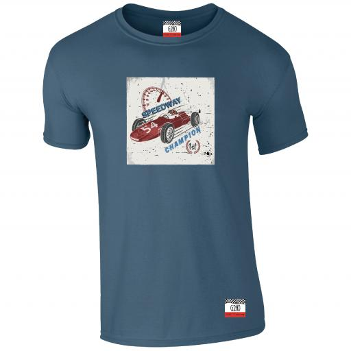 Speed Demon Speedway champion Racing T-shirt