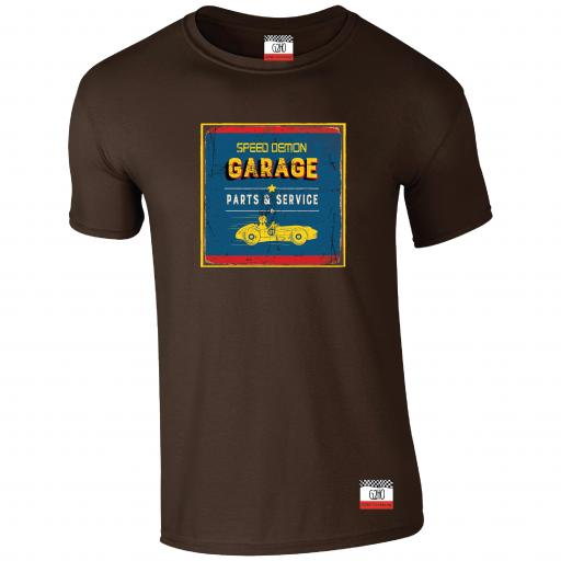 Speed Demon Garage T-shirt