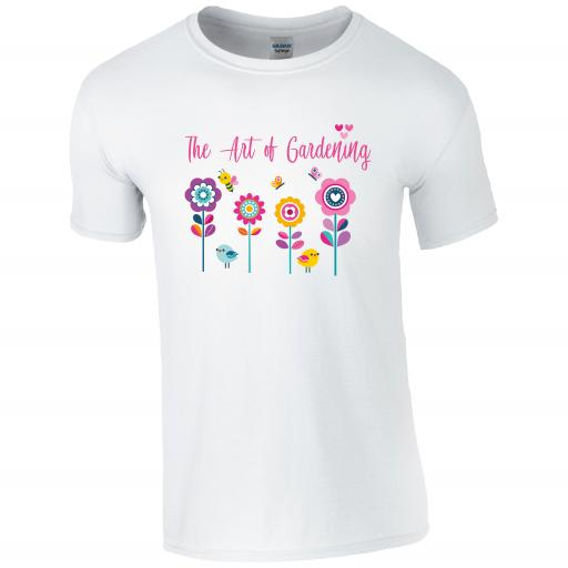 The Art of Gardening, Gardening Humour T-shirt