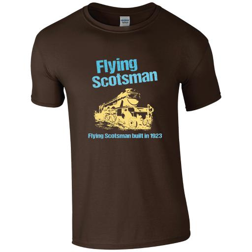 Flying Scotsman, The History of Trains T-Shirt
