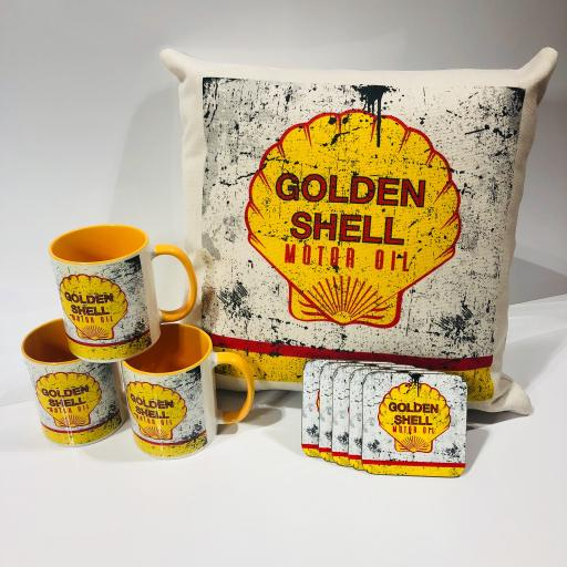 Golden Shell Motoring Racing Gift Set