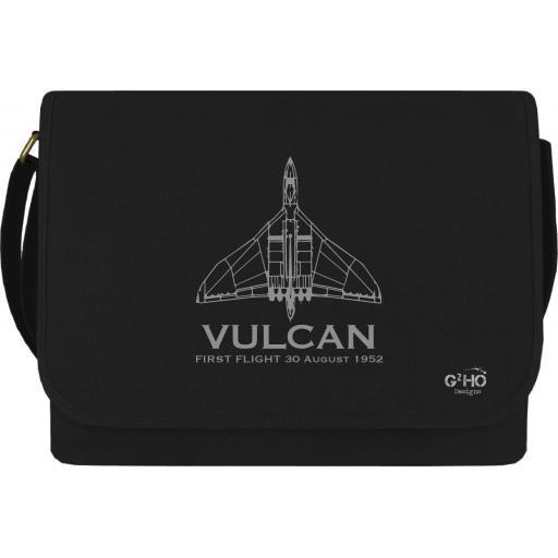 Vulcan Classic First Flight Canvas Messenger Bag