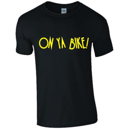 Cycling as a hobby - On Ya Bike T-shirt