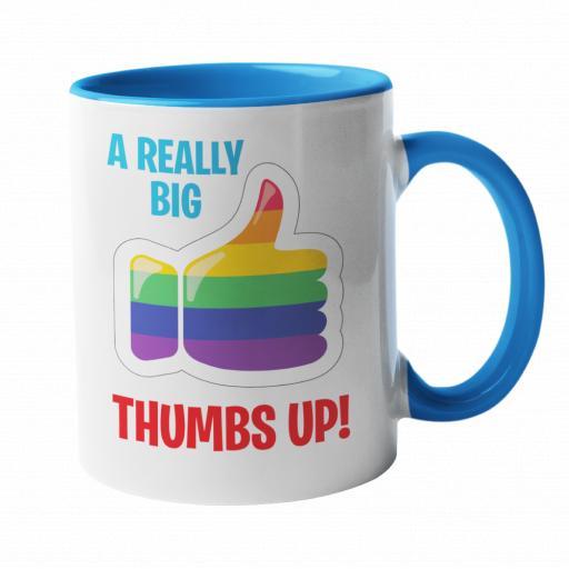 A Big Thumbs Up Mug