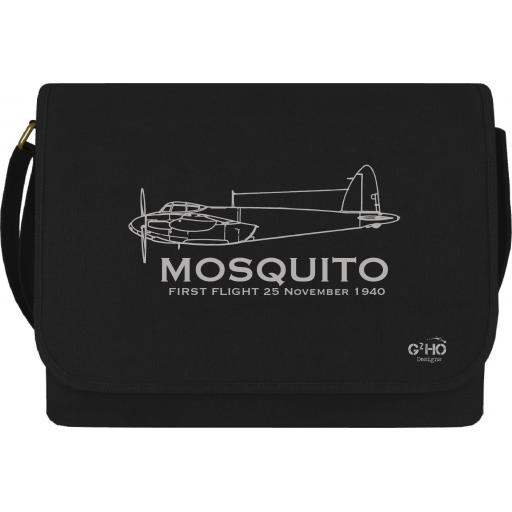 Mosquito Classic First Flight Canvas Messenger Bag