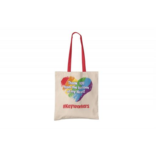 Thank you from the bottom of my heart Tote Bag
