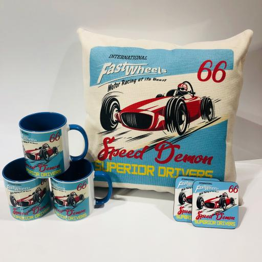 Fast Lane Speed Demon Motoring Racing Gift Set