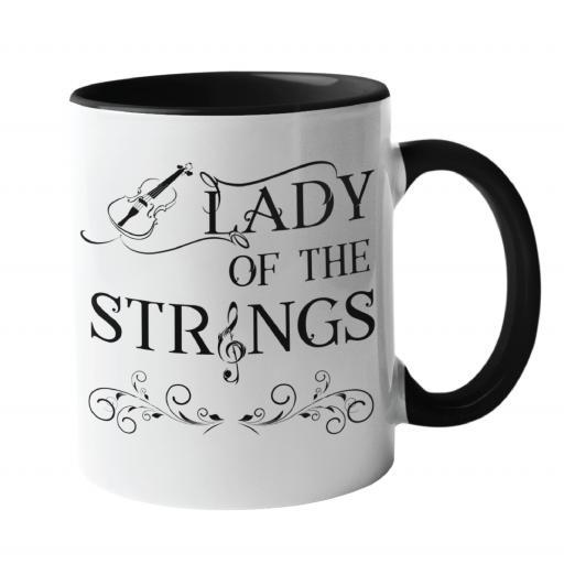 Lady of the Strings, Music Mug