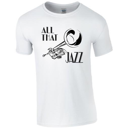 All That Jazz Music T-Shirt