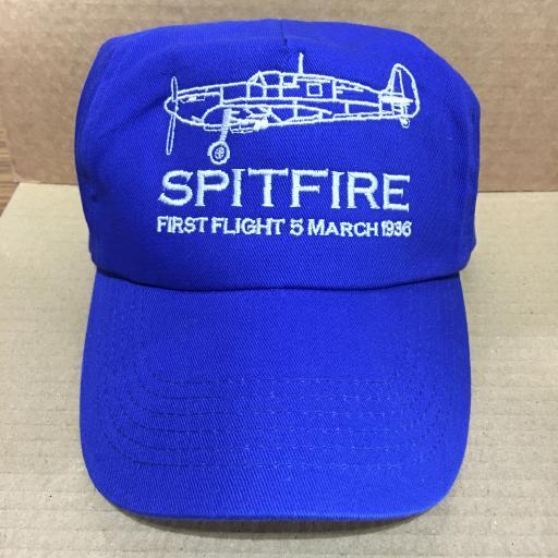Spitfire first flight cap
