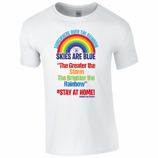 Somewhere over the Rainbow, Skies are Blue T-Shirt